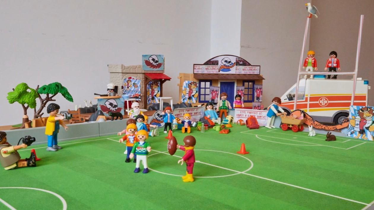 Pontevedra Rugby en el confinamiento